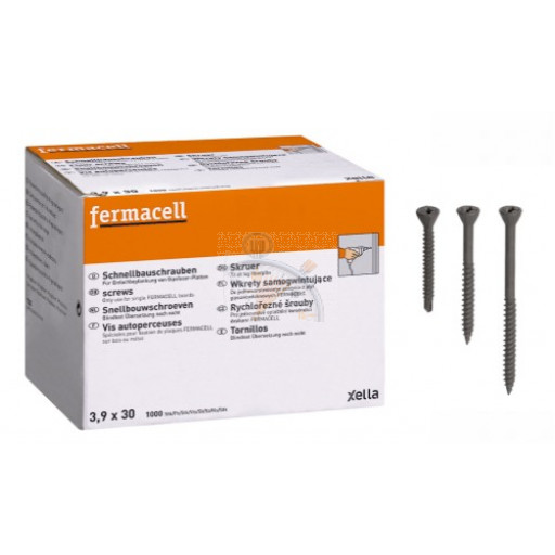 FERMACELL - VIS AUTOPERCEUSES 3,9 x 22 mm